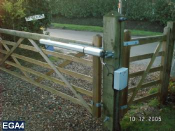 Existing Gates Automated